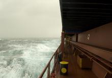 Stormy Mediterranean