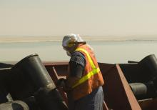 Jay Rust Busting, Suez Canal
